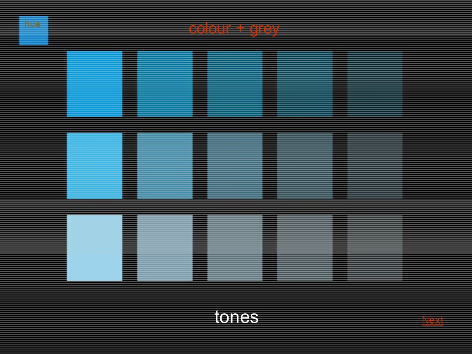 tones colour + grey hue Next