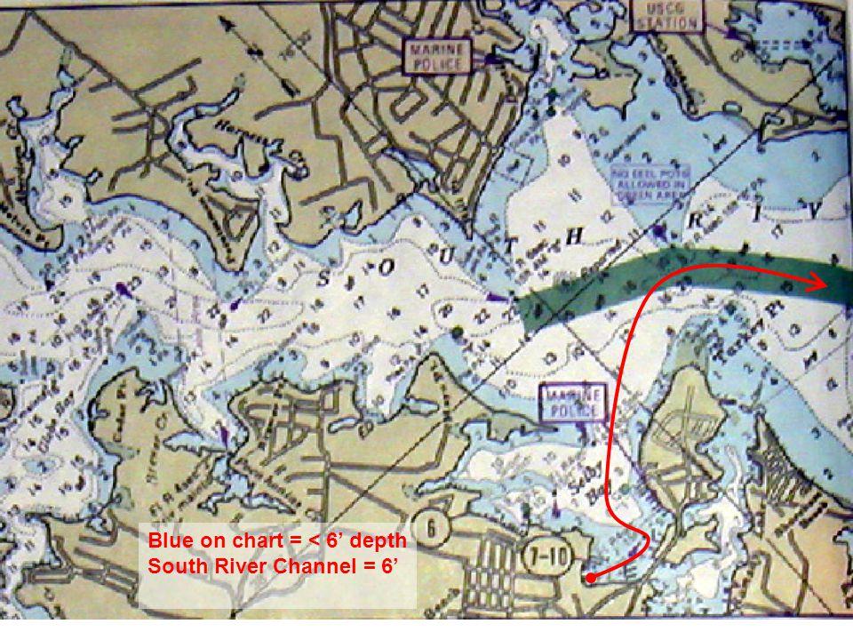 Crab Pot City South River to Thomas Point