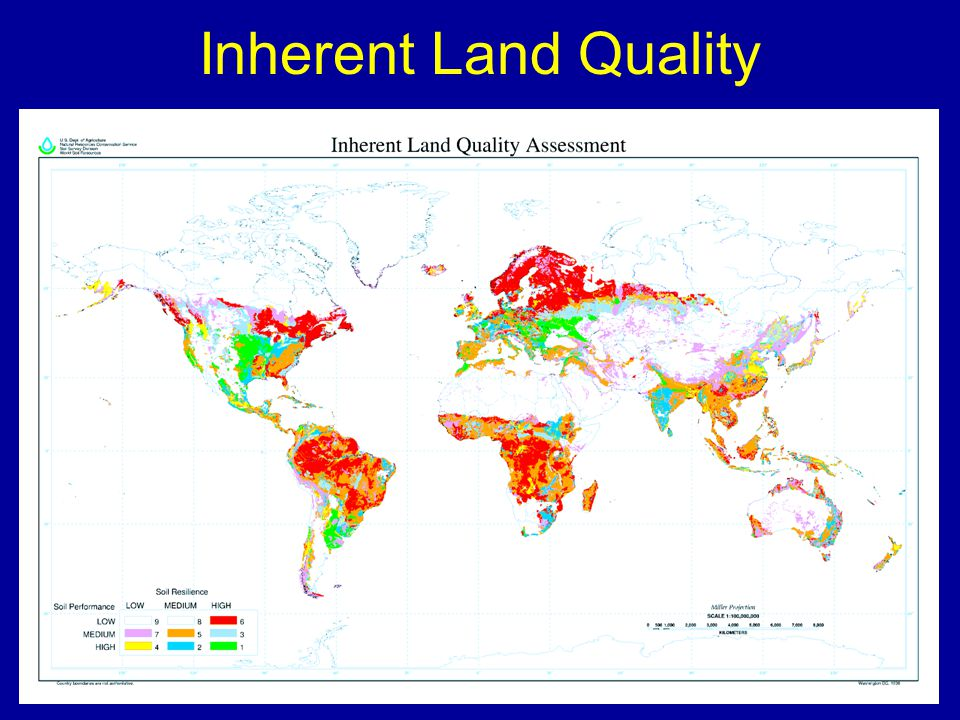Inherent Land Quality