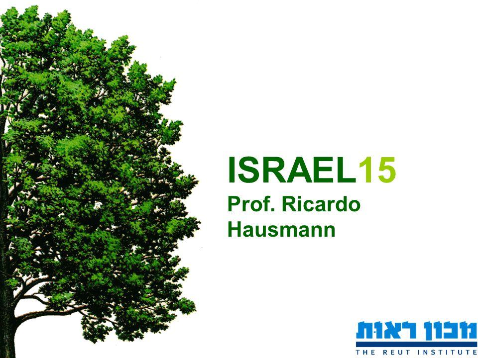 ISRAEL15 Prof. Ricardo Hausmann