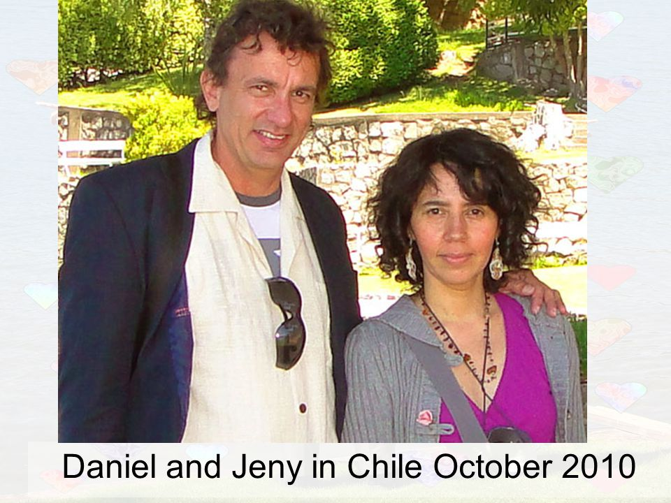 Daniel and Jeny in Chile October 2010