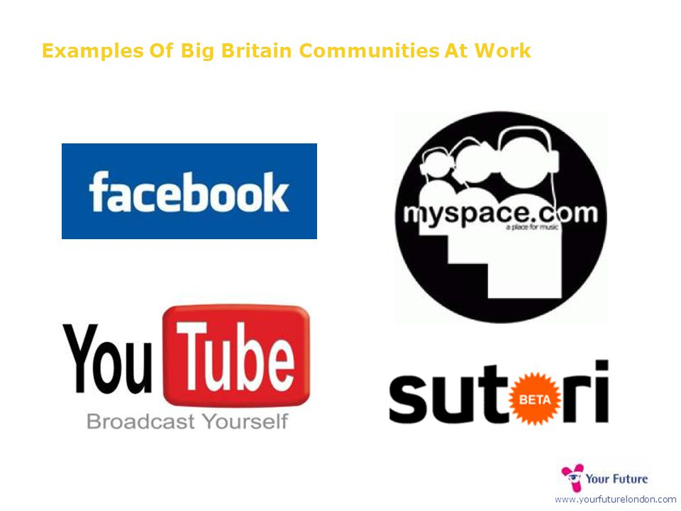 www.yourfuturelondon.com Examples Of Big Britain Communities At Work