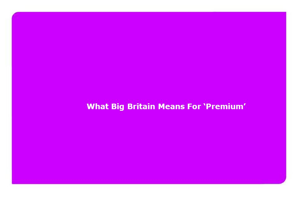 www.yourfuturelondon.com What Big Britain Means For 'Premium'