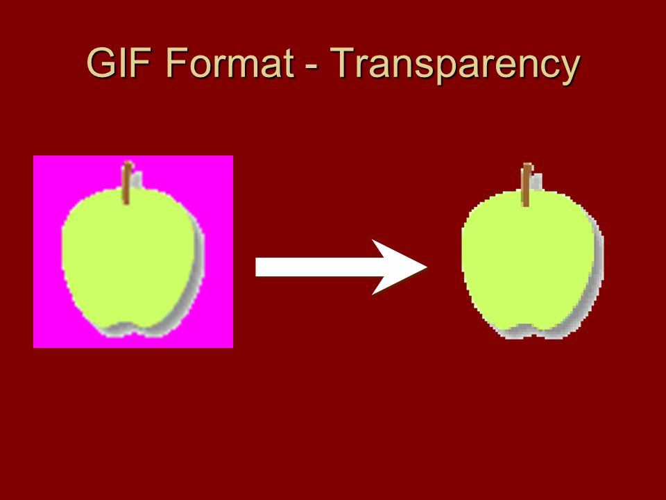 GIF Format - Transparency