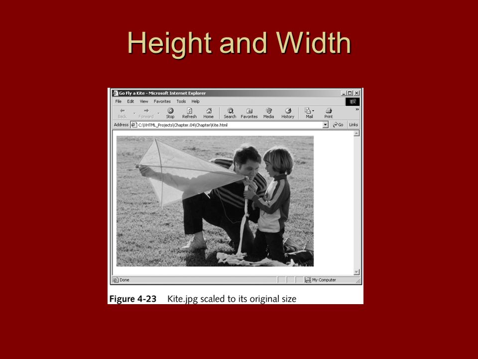Height and Width
