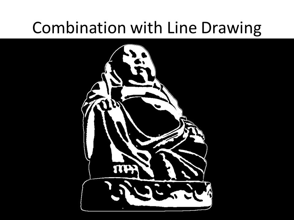 Combination with Line Drawing