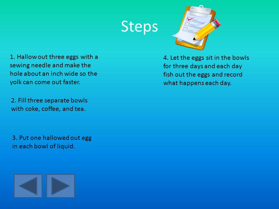 Steps 1.