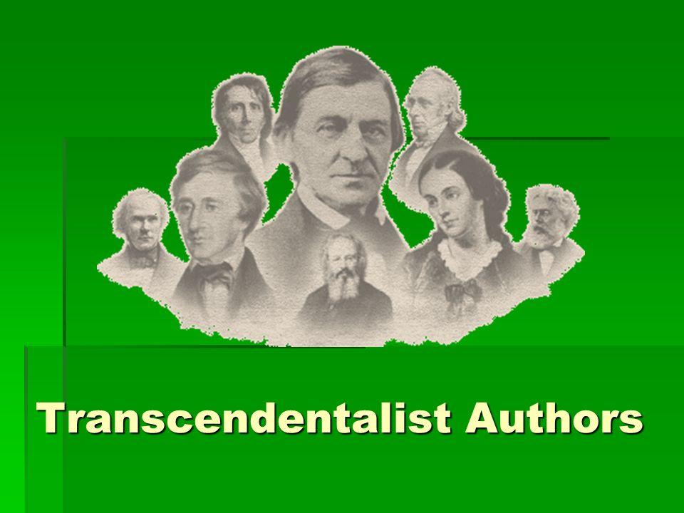 Transcendentalist Authors