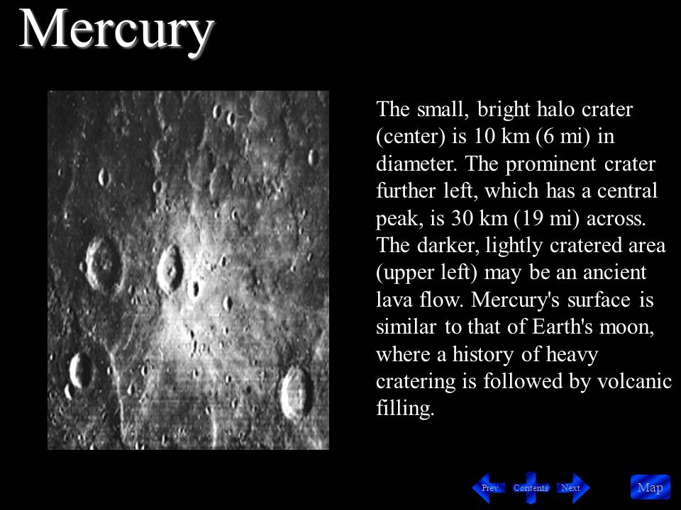 Contents NextPrev. Map Venus in Color Altimetry Image of Three Volcanoes Twin Summit Venus