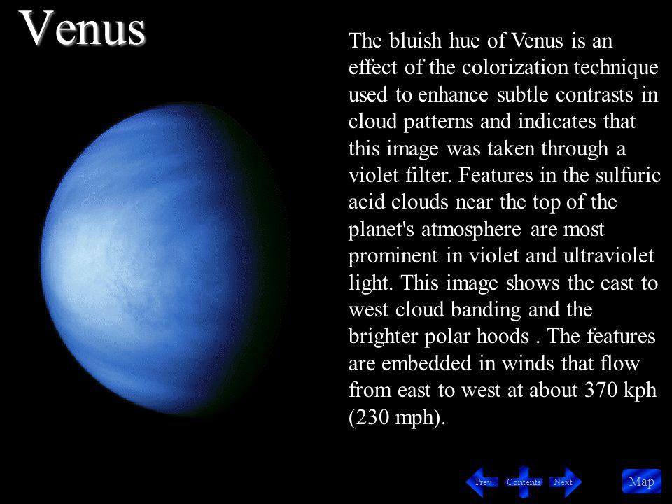 Contents NextPrev. Map Great Red Spot White Cloud Erupting Volcano Jupiter