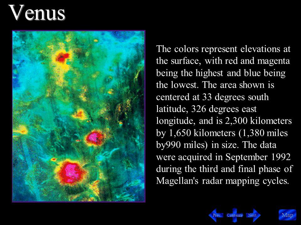 Contents NextPrev.Map Located in the Atla Regio region of Venus is Sapas Mons.