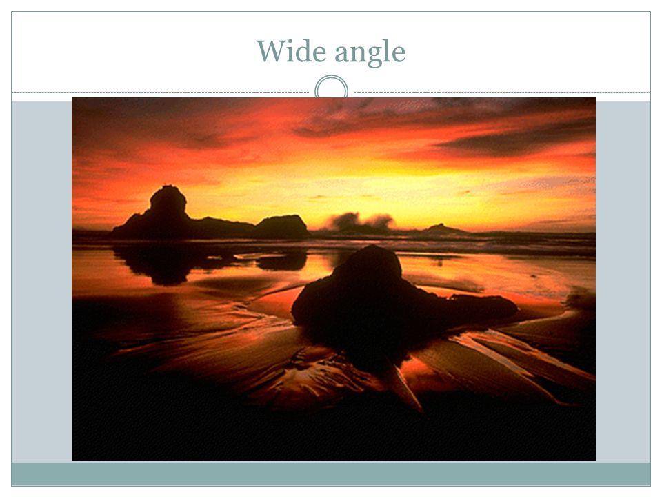 Wide angle