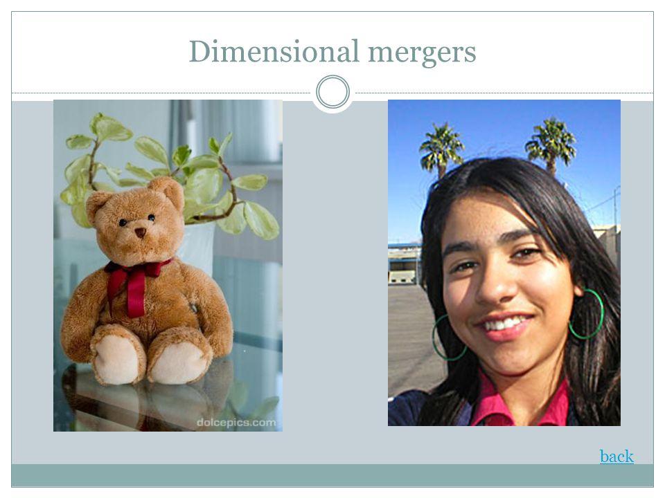 Dimensional mergers back
