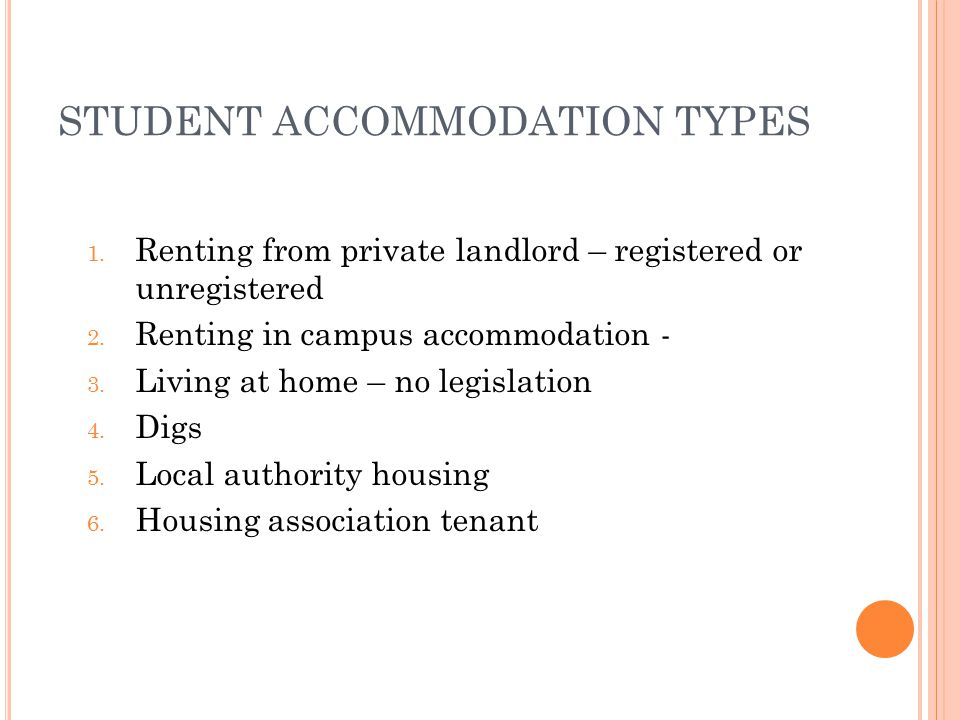 TYPES OF PRIVATE TENANCIES Periodic tenancy ✓ no fixed amount of time - an be weekly/monthly depending on when rent is paid ✓ Should have a written tenancy agreement ✓ Should have a rent book ✓ Can become Part 4 tenancy after 6 months ✓ Termination of tenancy same as detailed below Part 4 tenancies ✓ Automatically acquired after 6 months renting – increased security of tenure re termination ✓ Can last for 4 years and then be renewed ✓ Fixed term tenants can claim part 4 tenancy by notifying landlord in writing 1 – 3 months before end of fixed term ✓ Part 4 tenancy apply automatically to periodic tenants