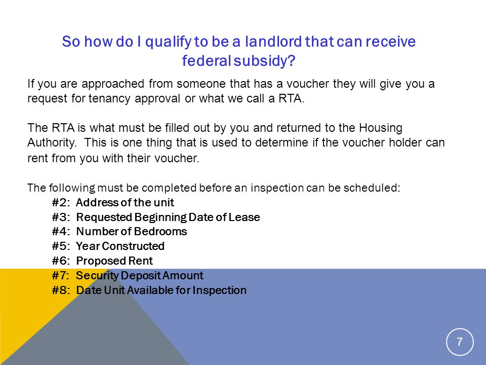 #9:Type of House / Apartment #10: If unit is subsidized, indicate type of subsidy (if applicable) #11: Utilities and Appliance Provided by and Paid by ( O for Owner, T for Tenant) #12: Owners with more than 4 units must complete this section.