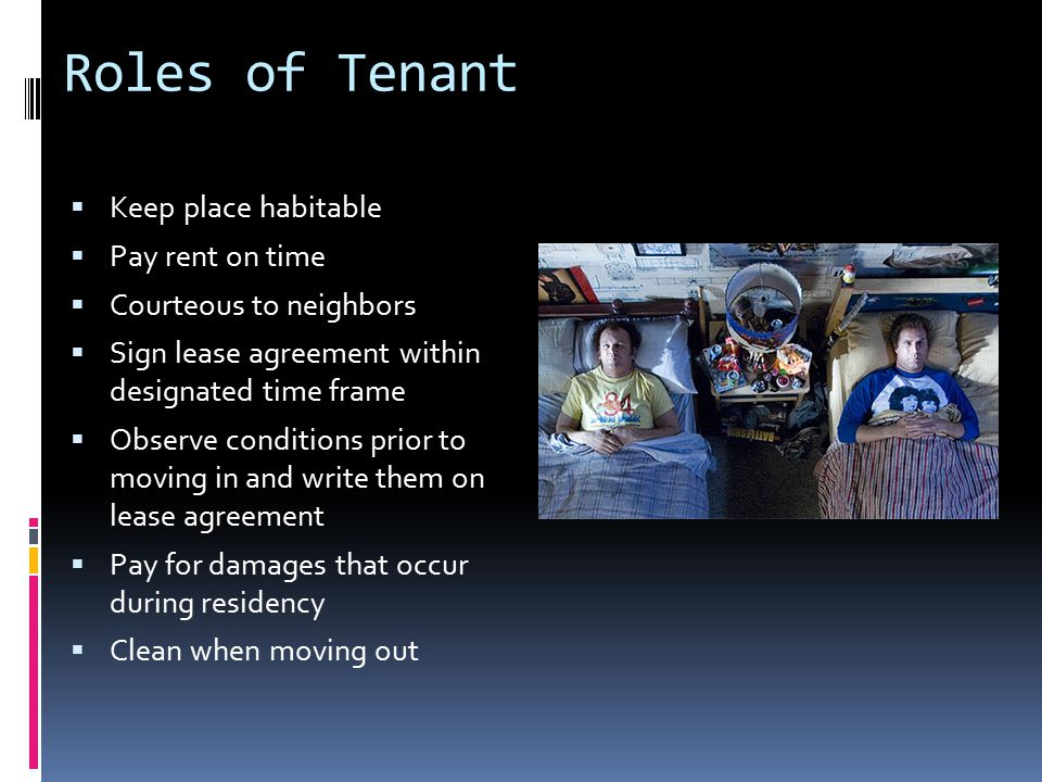 Illegal Landlord Actions  Even if you're behind in rent  Lockouts  Utility shutoffs  Taking your property (unless you abandon it)  Retaliatory actions