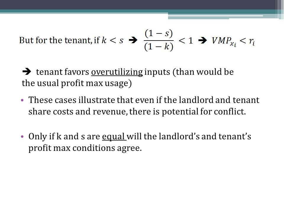  landlord: Tenant: