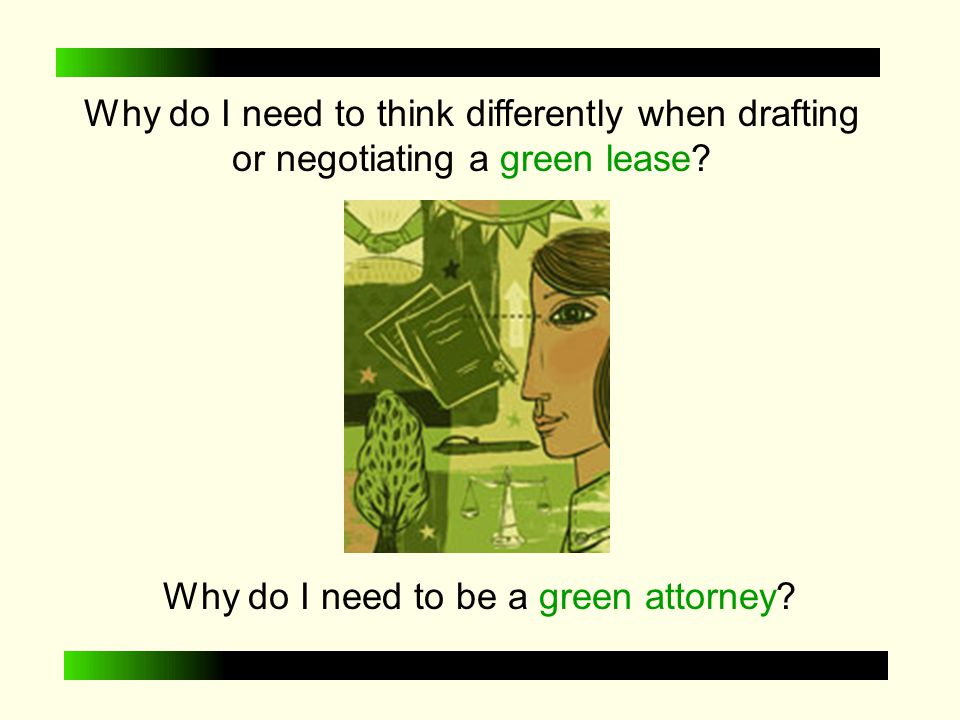 What is GREEN LEASING.