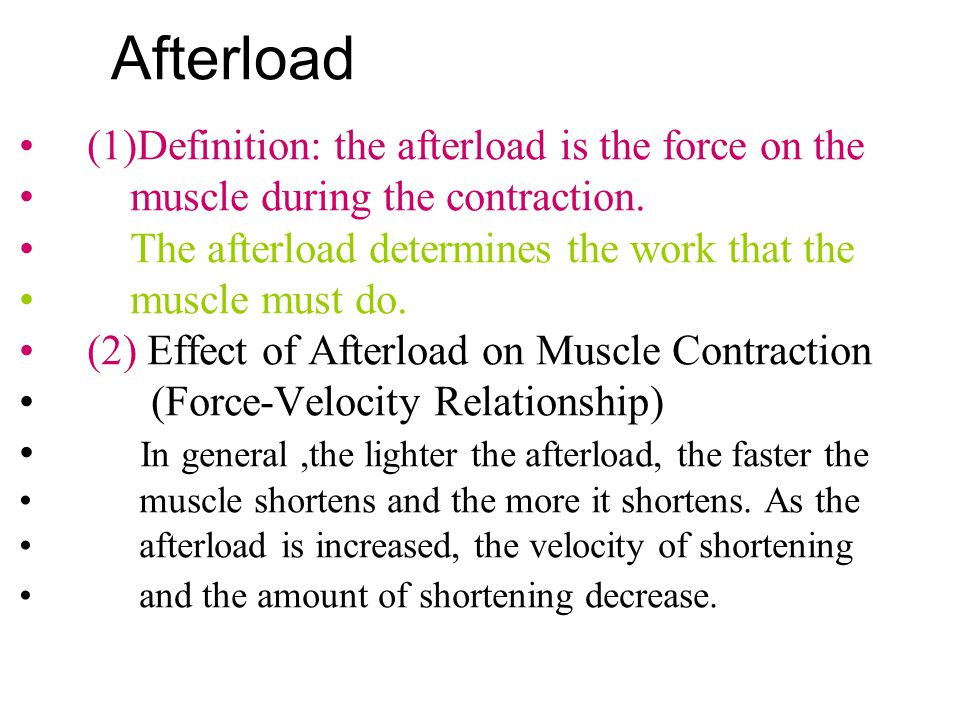 Length-force relationship Stretching a fiber to about the length of D point, pulls the filaments apart so that there is no overlap.At this point there