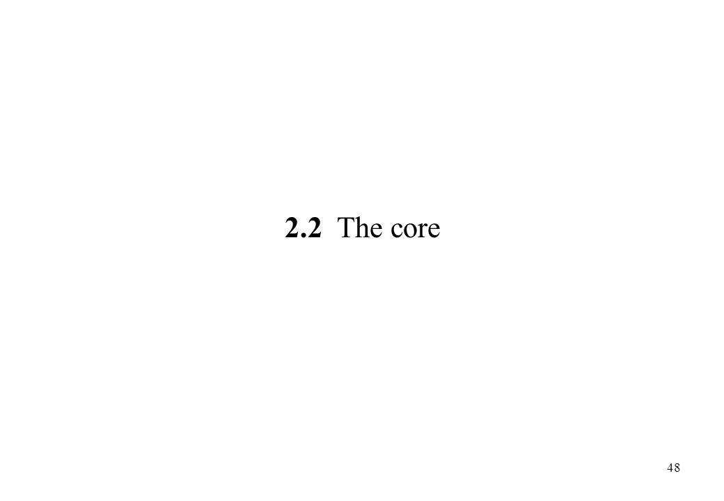 2.2 The core 48