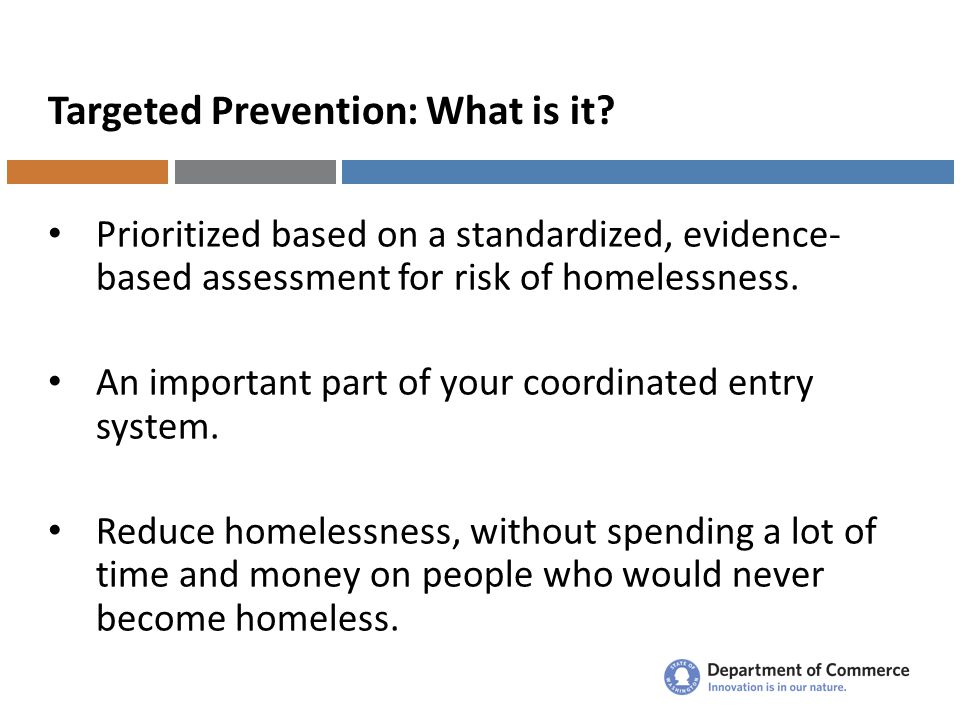 Targeted Prevention: What is it.