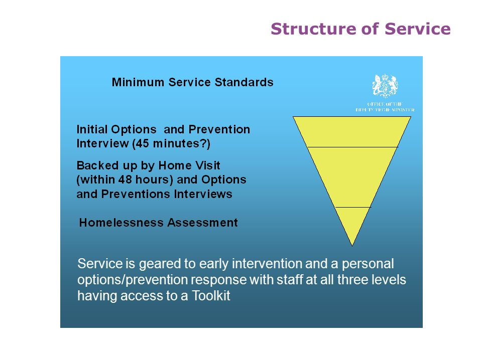 A Prevention and Options Council Structure