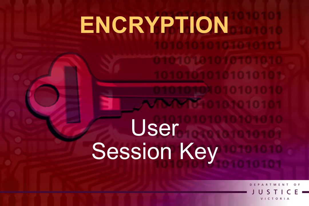 ENCRYPTION User Session Key