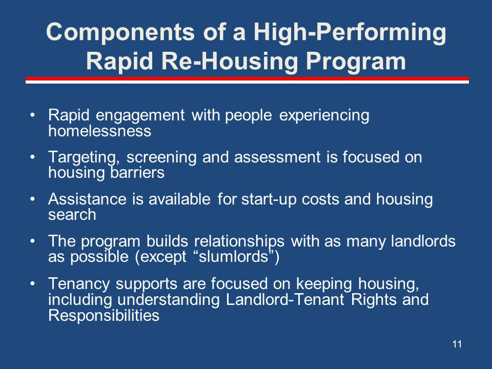 Brief Review SSVF Requirements The SSVF Program's purpose is to provide supportive services to very low-income Veteran families who fall into one of three categories that define Occupying Permanent Housing. Categories 2 and 3 are the focus of Rapid Re-Housing (although relocation as a strategy to prevent homelessness, i.e.