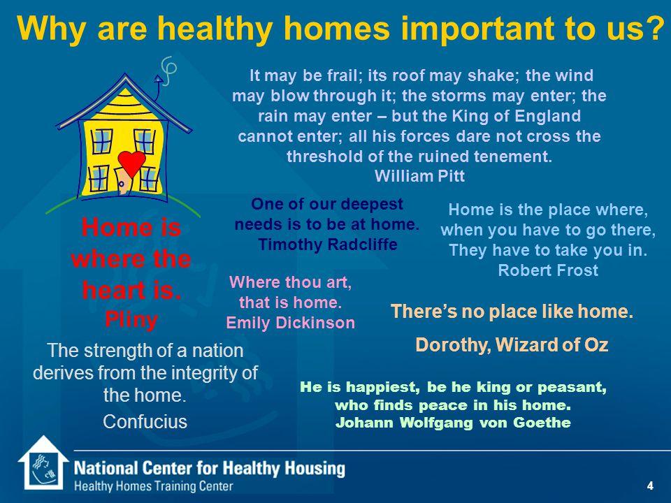 15 7 Healthy Homes Principles Keep It: 1.Dry 2. Clean 3.