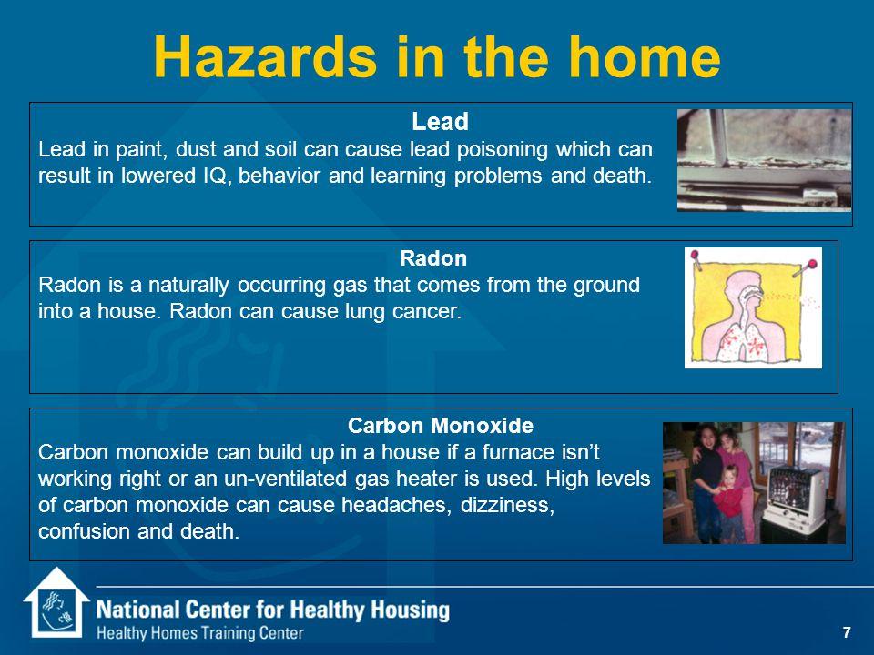 Volatile Organic Compounds n Air Fresheners n Cleaning Products n Sprays & Coatings n Formaldehyde n Carpets n Vinyl Floors n Drywall n Hobbies n Home Maintenance