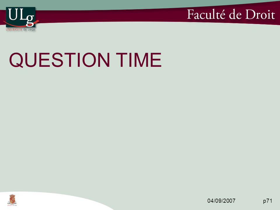 04/09/2007 p71 QUESTION TIME