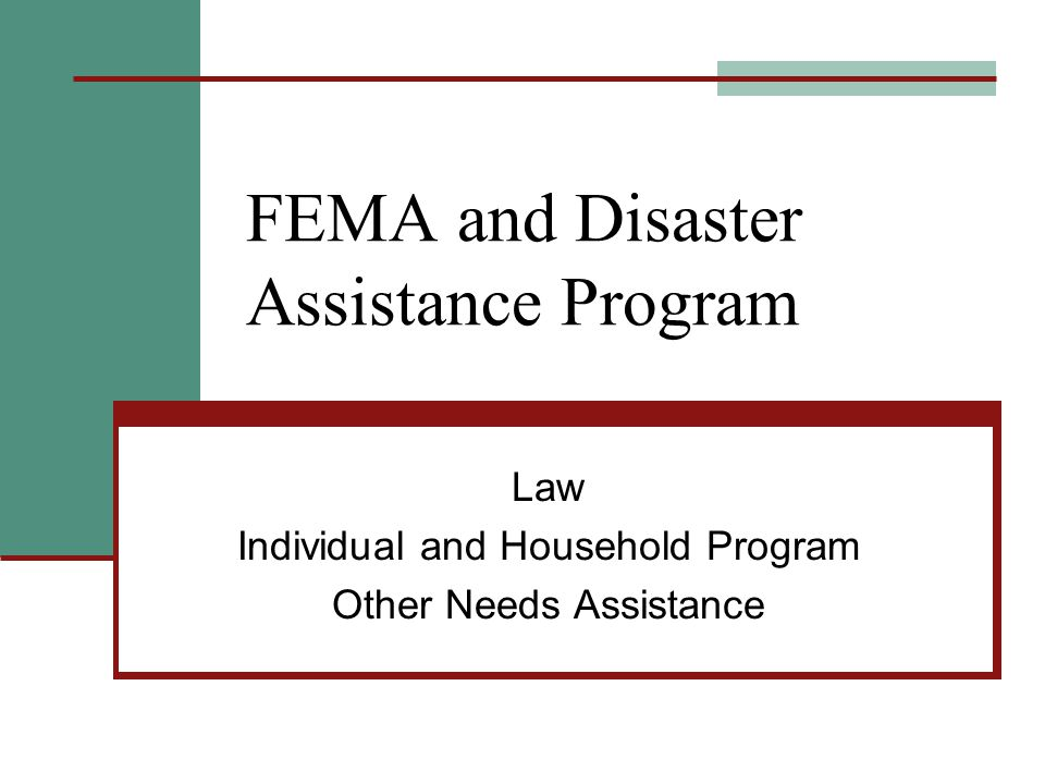 Tips for Advocate Don't rely on FEMA findings as correct.