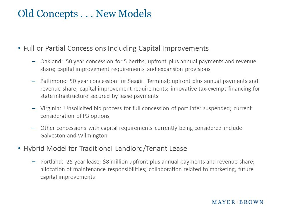 Why Consider Availability Payment Contracts.