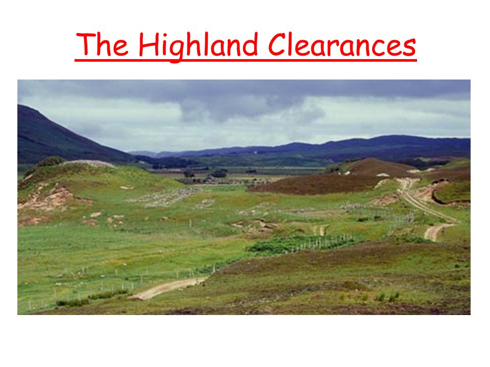Some Highlanders who protested were taken prisoner.
