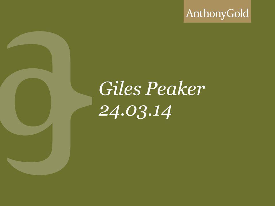 Giles Peaker 24.03.14