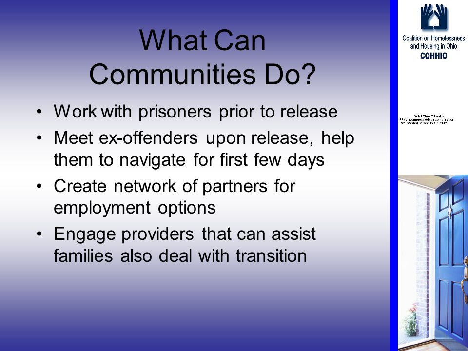 What Can Communities Do.