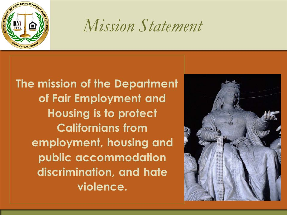 FEHA's Regulatory Development Fair Employment and Housing Commission regulations:  Responsibilities of employers to train their managers and supervisors in sexual harassment prevention (2006).