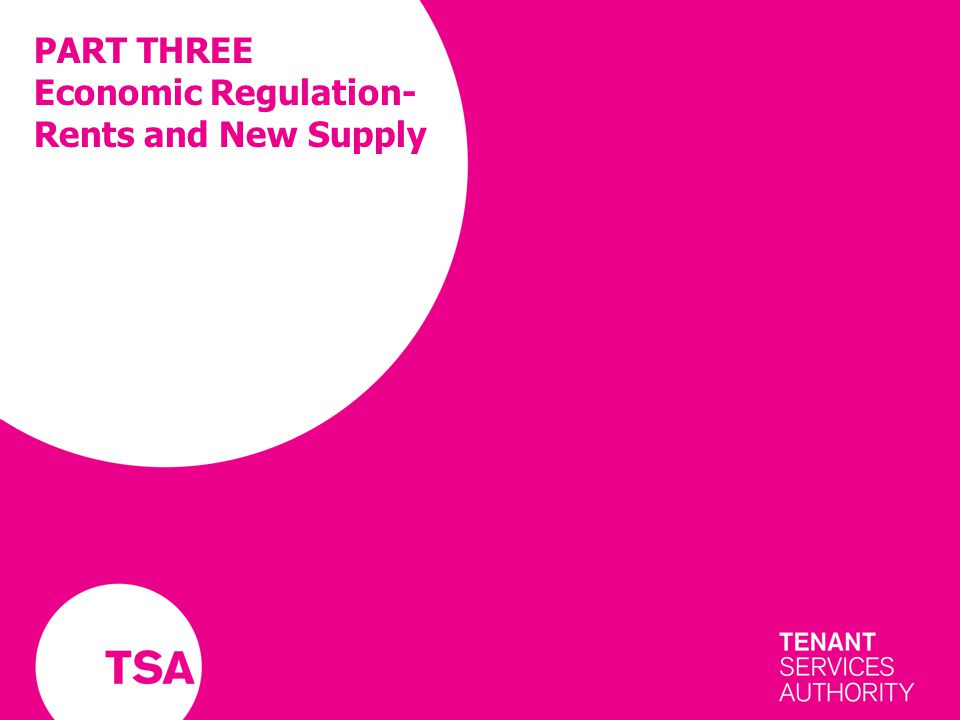 PART THREE Economic Regulation- Rents and New Supply