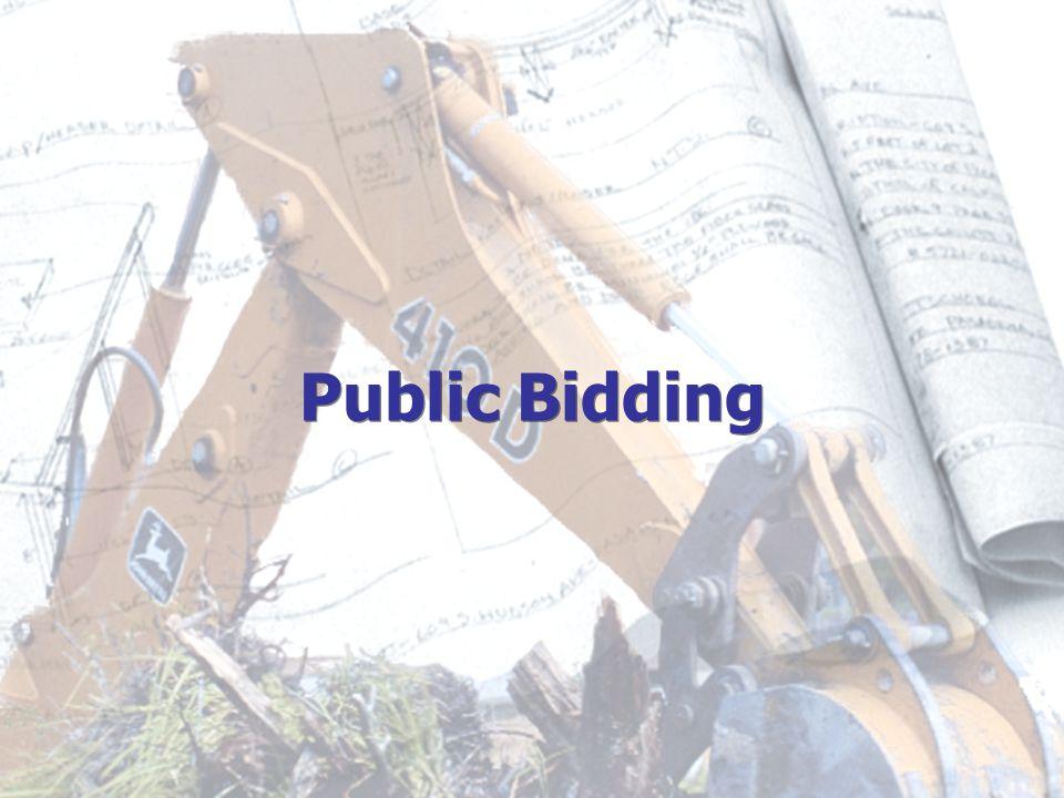 Public Bidding