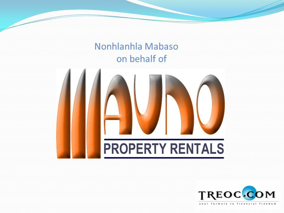 Nonhlanhla Mabaso on behalf of
