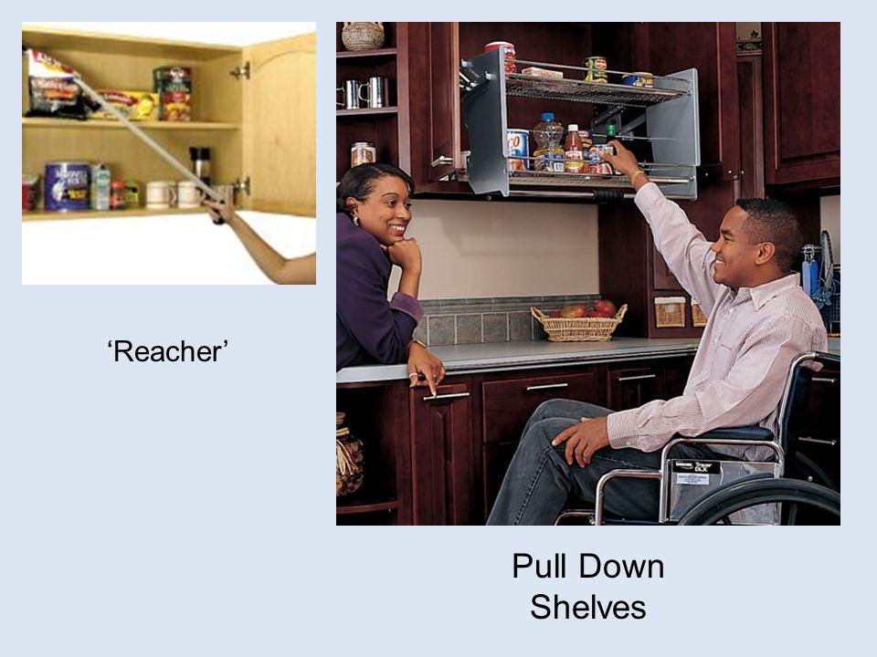 Pull Down Shelves 'Reacher'