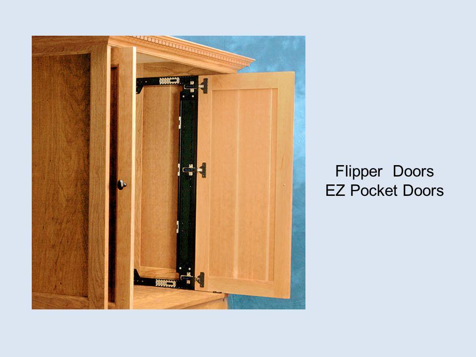 Flipper Doors EZ Pocket Doors