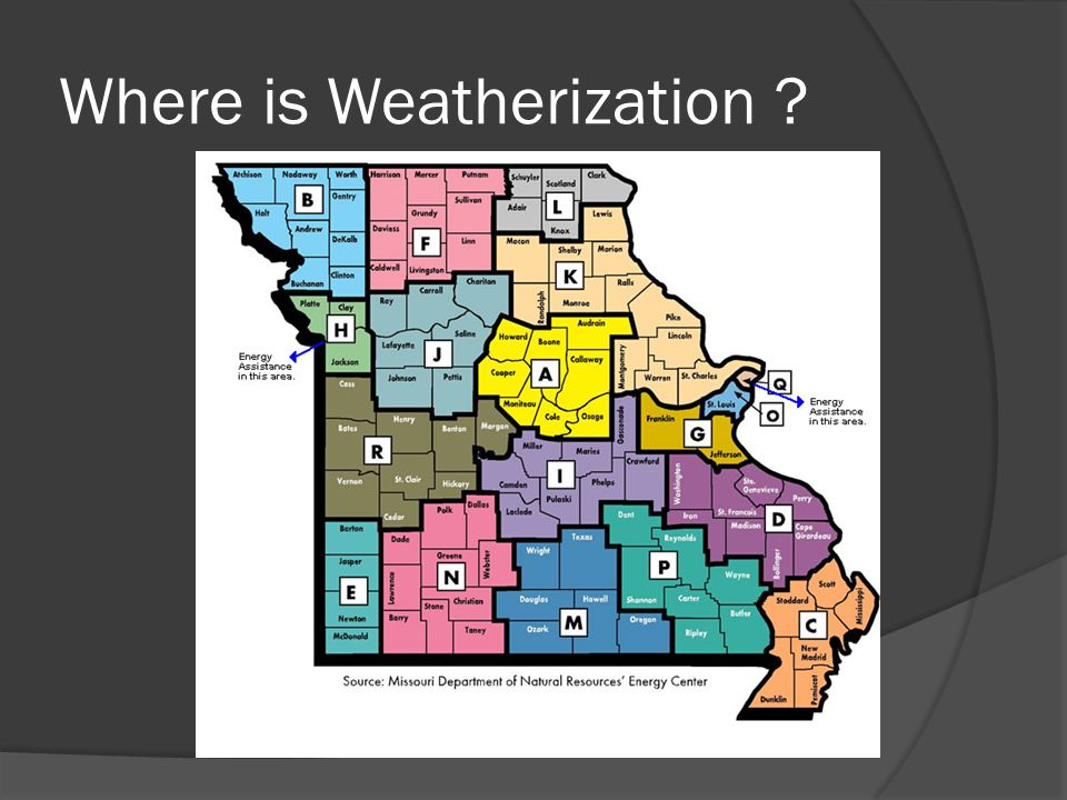Where is Weatherization