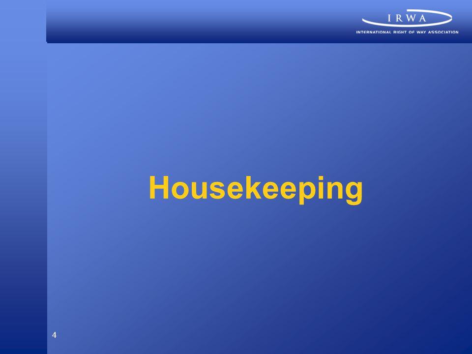 4 Housekeeping