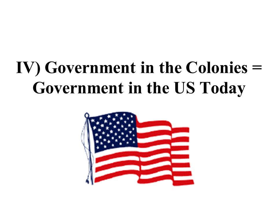 2) 1 st real constitution of the US – Fundamental Orders of Connecticut, signed in 1639 a) showed how the governor was to be elected (through a simple ballot process) b) showed how and when the courts were to be chosen and sworn in c) showed how they were to debate in order to give liberty of speech and silence unreasonable and disorderly speaking – many of these rules are used by our Congress today