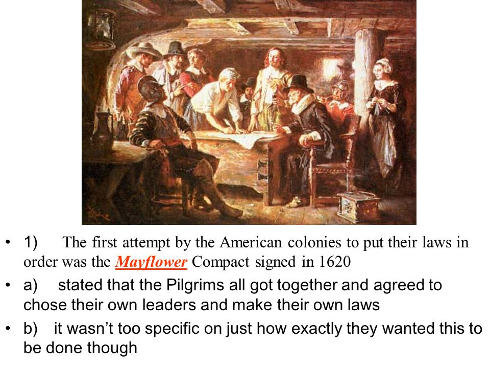 C) No matter what their differences, all of the colonies (because they were so far from their rulers in England) had established a set of rules and procedures for their colonial governments called their constitutions