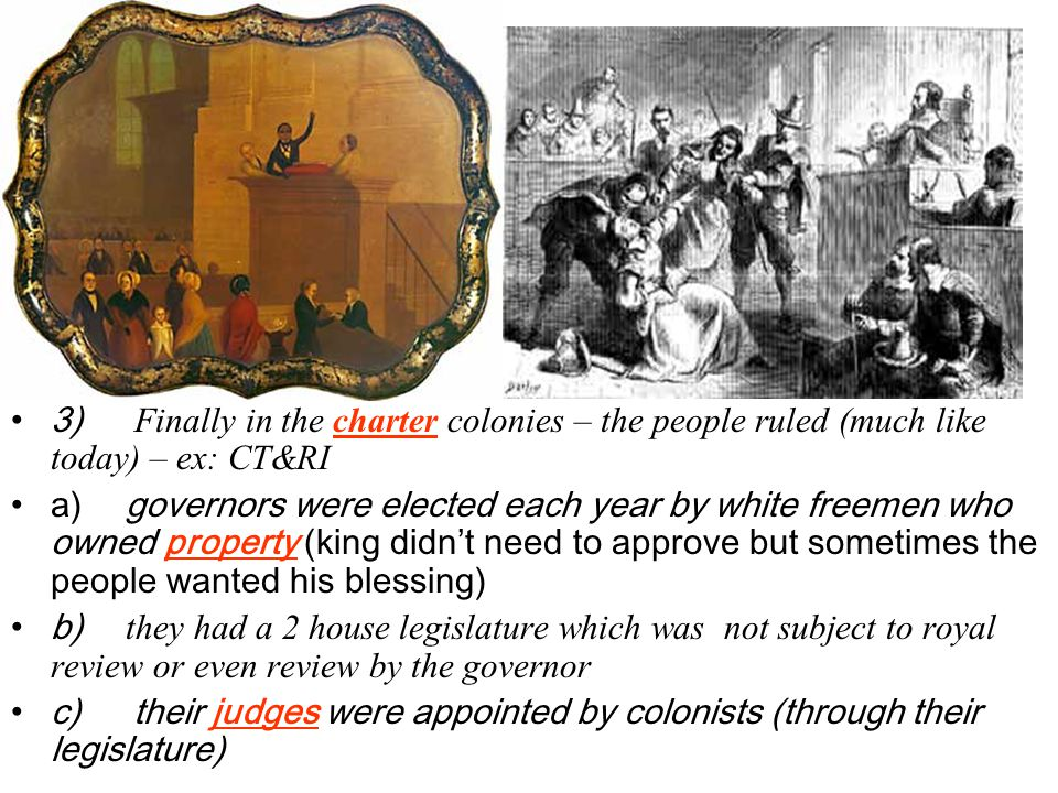 d) They also sent King George III a Declaration of Rights for the people in the colonies