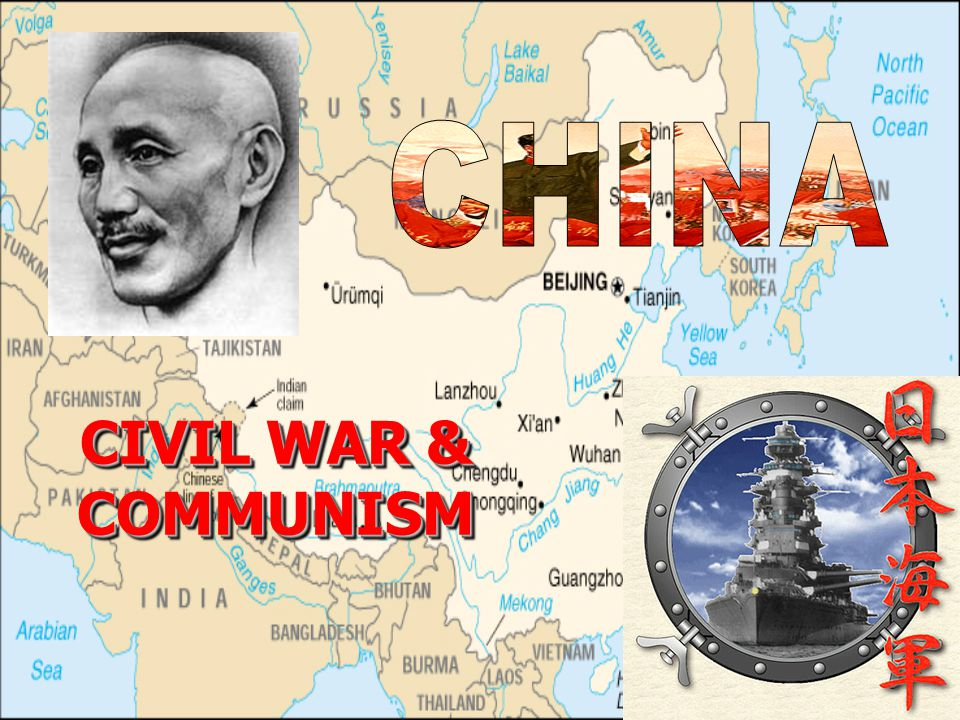 We will cover China at the beginning of 20 th centuryChina at the beginning of 20 th century Reform movement led by Sun Yat-senReform movement led by Sun Yat-sen How China became a republic in 1911 and came under control of warlordsHow China became a republic in 1911 and came under control of warlords Rivalry between KMT and the CommunistsRivalry between KMT and the Communists Civil war in 1920s and 1930sCivil war in 1920s and 1930s Why Communists won the civil war and came to power in 1949Why Communists won the civil war and came to power in 1949 China's relations with other countries during these yearsChina's relations with other countries during these years