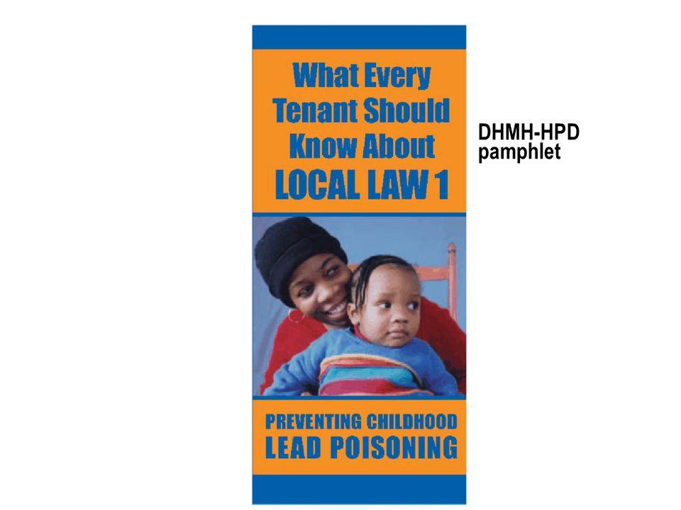 DHMH-HPD pamphlet