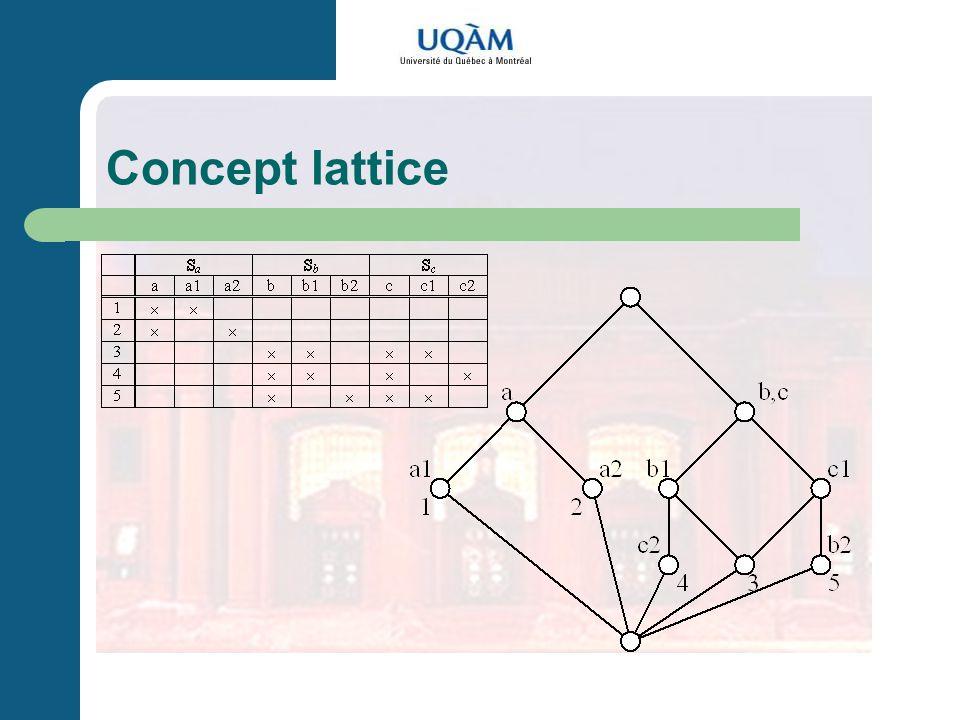 Concept lattice